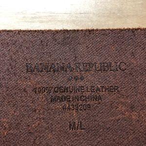 Banana Republic Accessories - Leather Belt